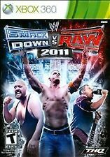 BRAND NEW SEALED XBOX 360: WWE SmackDown vs. Raw 2011 (Microsoft Xbox 360, 2010)