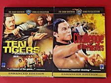 Shaw Brothers Kung Fu Collection 2 DVDs Ten Tigers and Challenge of the Masters