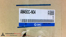 SMC AM450C-N04, PNEUMATIC AIR FILTER, 1/2 INCH INLETS, NEW