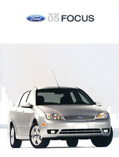 2005 Ford Focus ZX3 ZX5 ZX4 ZXW ST 22-page Original Car Sales Brochure Catalog