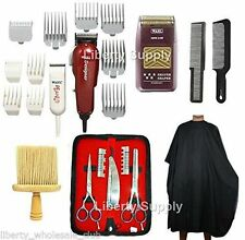 Cosmetology Barber Salon Kit- Wahl 5 Star Shaver, All Star Combo Scissor Set USA