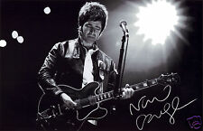 NOEL GALLAGHER AUTOGRAPH SIGNED PP PHOTO POSTER