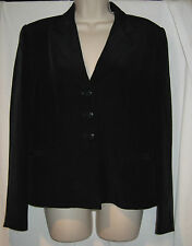 Womens Black Jacket (Lord and Taylor)  Size 8