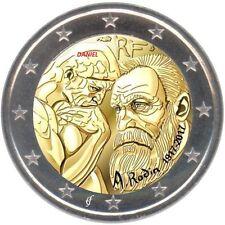 2 Euro commemorative 2017 France Auguste RODIN