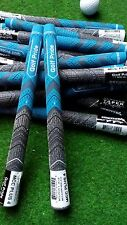 10 Neue Golf Griffe Golf Pride MCC PLUS4 Blue Golf Grips -Midesize