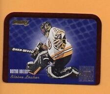 1995-96 Donruss BETWEEN THE PIPES Insert #1 Blaine Lacher BOSTON BRUINS GOALIE