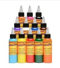 Eternal Ink 12x je 30 ml Tattoofarben SET Tattoo Farbe Tätowierfarbe Tattoo Neu