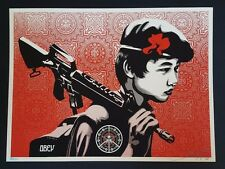 Shepard Fairey Duality of Humanity 2 Print Signed LE obey not banksy dolk kaws