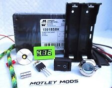 Box Mod Kit DiY 1591B*510 Connector*3034 Mosfet*voltmeter*18650 Sled*Motley Mods