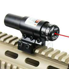 650nm Red Laser Sight For Bow/Rifle Crossbow Scope QQ Cliper 11mm or 20mm Rail