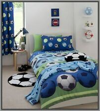 Soccer Ball Boys FootBall Single Size Quilt Cover Set New