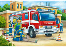 Ravensburger Police and Firefighters 2 x 12 Piece Jigsaw Puzzles RB07574-4