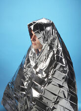 10 X FOIL SPACE BLANKET EMERGENCY SURVIVAL BLANKET THERMAL RESCUE FIRST AID