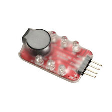Alarm Tester Buzzer 7.4V -11.1V RC Lipo Battery Low Voltage Monitor Indicator #