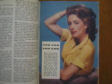 1956 TV Guide(MAY WYNN/SIDNEY MILLER//BROKEN ARROW/THE BUCCANEERS/JAYNE MEADOWS)