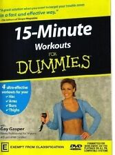 15 Minute Workout For Dummies (DVD, 2003), Like new (Disc: NEW), free shipping