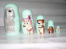 Pound Puppies nesting doll