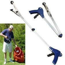 EXTENDING GRABBER ARM LITTER PICKER GRAB CLAW PICK UP RUBBISH HELPING HAND TOOL