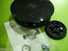 BLACK PLASTIC SLIMLINE WIND ROTARY ROOF VAN AIR VENT , DOG, HORSE VEHICLE