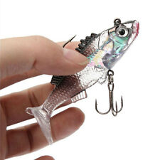 Carp Shape Soft Fishing Lures Artificial Fish Carp Bait With Tackle Hooks
