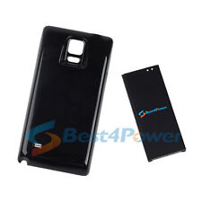 10500mA Extended Double layer Battery+Black Case For Samsung Galaxy Note 4 N910V