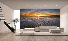 Allonby sunset Wall Mural Photo Wallpaper GIANT DECOR Paper Poster Free Paste