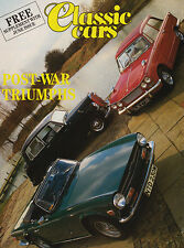 Post-War Triumphs June 1987-A Classic Cars Supplement,Le Mans, Ex Works 2.5 PI.