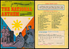 Philippine National Classic Illustrated Komiks THE NATIONAL ANTHEM Comics
