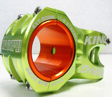 "DaBomb King DH/FR Stem, 0 Deg, 50mm, 1 1/8"" steerer, 31.8/35 Bar Bore, Green"