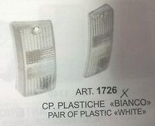 COPPIA FANALE PLASTICHE BIANCA PIAGGIO VESPA P125-150X-PX 125-150-200E ART.1726