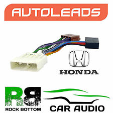 Autoleads PC2-09-4 Honda NSX Dec 90  Non Bose Car Stereo ISO Adaptor Wire Lead