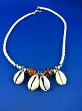 Surf Necklaces White Choker 43.5 cm Cowrie Shell Southern SandStar Original