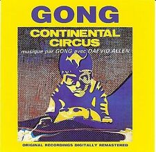 GONG,CONTINENTAL CIRCUS.1992 MANTRA.FRANCE.DAEVID ALLEN.MINT CD