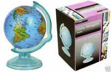 Money Box World Globe Piggy Bank Coins Cash Counting Saving Deposit Jar Plastic