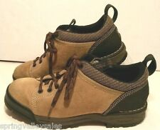 Rockport XCS Suede Khaki Tan Leather Oxford LaceUp Casual Comfort Shoes Mens 8M