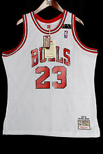 100% Authentic Michael Jordan Mitchell Ness 91-92 The Shrug Bulls Jersey 48 XL