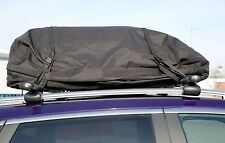 EXTRA LARGE BLACK FULLY WATERPROOF ROOF RACK BOX STORAGE CARGO COVER BAG-FOLDABL