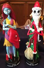 "NIGHTMARE BEFORE CHRISTMAS JACK & SALLY SET 12"" RESIN STATUES WALGREEN EXCL NEW"