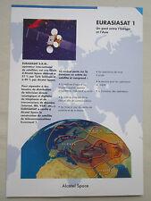 DOCUMENT ALCATEL SPACE ESPACE SATELLITE EURASIASAT 1 ASIA ASIE TV INTERNET