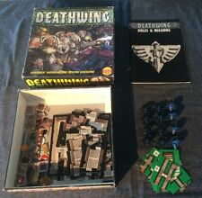 Warhammer 40k Deathwing Board Game Space Hulk Expansion Complete Gw 90'