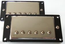 New set BELCAT BH-20 humbuckers alnico V - chrome pour Gibson, Fender, Squire...