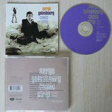 CD COMIC STRIP SERGE GAINSBOURG 20 TITRES