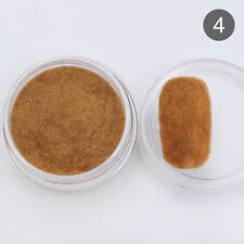 Fuzzy Flocking Velvet Nail Art Powder Dust Manicure Decoration DIY Brown Color