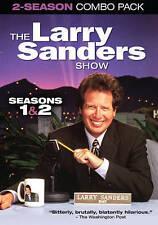 The Larry Sanders Show: Seasons 1 & 2 (DVD, 2014, 3-Disc Set)free shipping