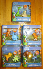 DISNEY THE GOOD DINOSAUR FIGURE SET 10 BUTCH WILL RAMSEY NASH MARY BISODON ARLO