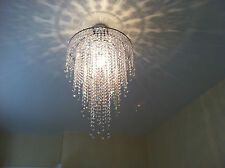 Chandelier Chrome Lead Cascade Crystal Glass Ceiling Light Lamp  MOS40MIXPencil