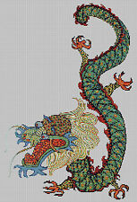 CHINESE DRAGON  - CROSS STITCH KIT