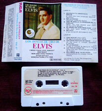 ELVIS PRESLEY Los discos de oro Vol. II URUGUAY CASSETTE RCA NM!