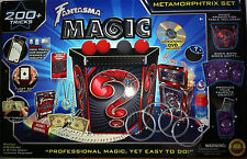 200+Tricks FANTASMA METAMORPHTRIX Magic Set Kit DVD Illusion Magician Cards NEW
