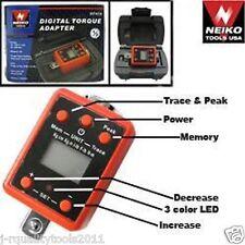 """3/4"""" Dr. Digital Torque Wrench Adaptor In/LB Ft/LB N-m Kg-cm Kg-m Converter"""